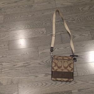 Beautiful Crossbody bag by Coach 🍀🌼